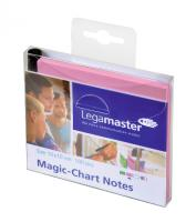 Magic-Chart Notes roze/100 10x10